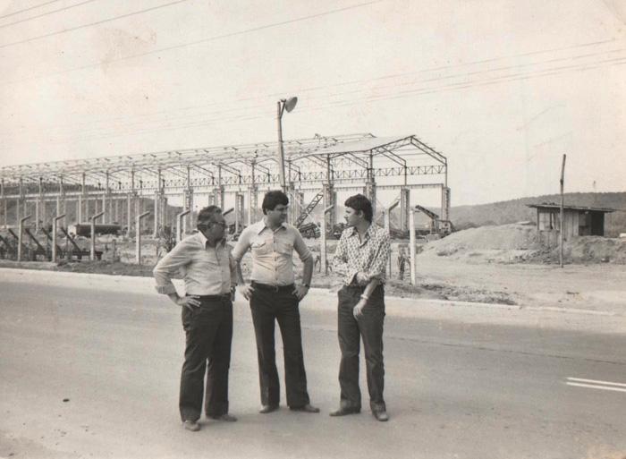 Vito e Flaviano em 1977