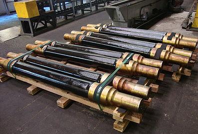 Eixo Ferroviário para material rodante