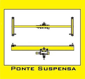 Fabricantes de pontes rolantes suspensas